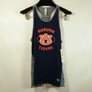 NWT Under Armour Heat Gear NCAA Auburn Tigers Tank